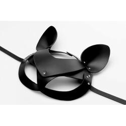 Leren Kitten Masker AF845 2