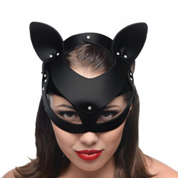 Leren Kitten Masker AF845 4