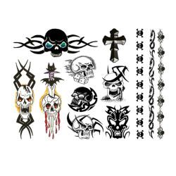 Punk Bitch Tattoo Set E21256 3