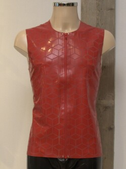 Latex Shirt L003 red 3