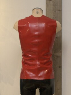 Latex Shirt L003 red 5