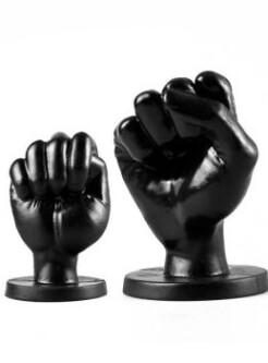All Black Fist Plug S 775150 1