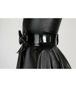 Latex riem met strik. Attend 774 E 1