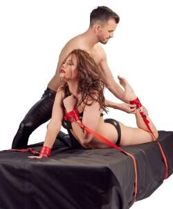 Bed Bondage Set Rood 2492865 2