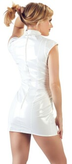 White Vinyl Dress 28511377 5
