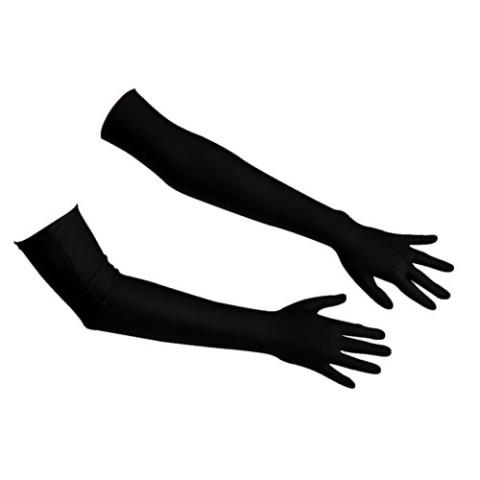 Satijnen handschoenen 0220256