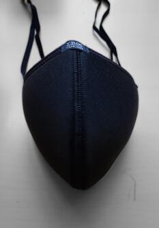 Mondmasker Zwart EVM1-BL 2