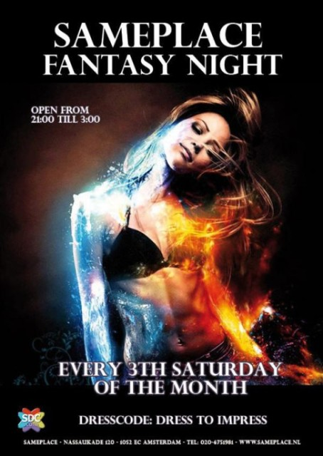 Fantasy Night Sameplace-Amsterdam