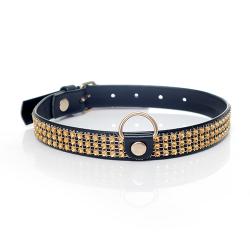 Gouden Strass Collar 33-00100