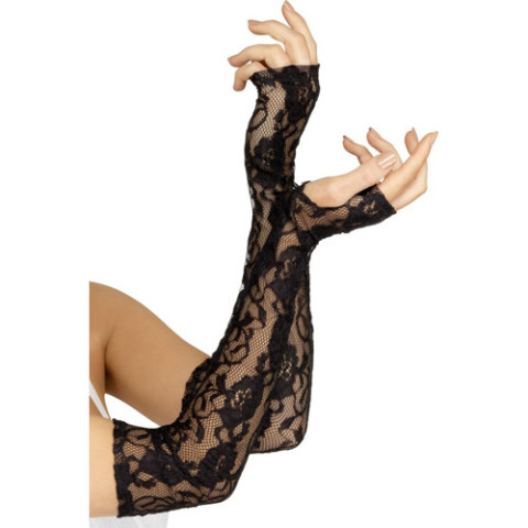 Gothic Lace Gloves 24731