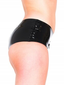 Latex Zip-Thru Shorts R1800 2