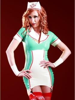 Natasha Nurse Dress & Cap SR1115