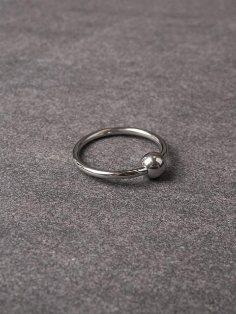 Glans-ring met balletje 112-tbj-2069