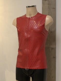 Latex Shirt L003 red