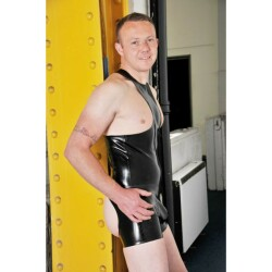 Cheeky Latex Short L217-E