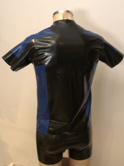 Latex Cadet Shirt Cadshirt 1304