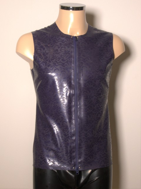 Latex Shirt L003 Paars