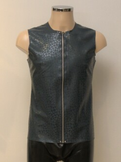 Latex Shirt L003 Petrol