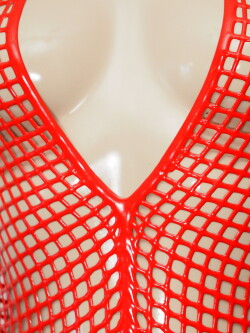 Latex Net Body LE2980-RED 3