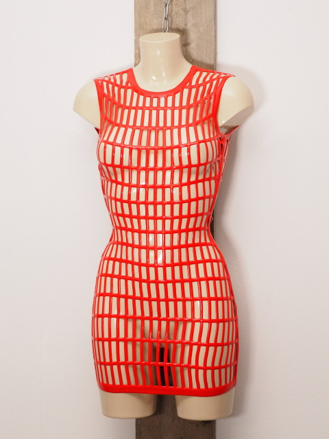 Latex Jurk LE2964-RED