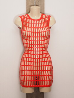 Latex Jurk LE2964-RED 2