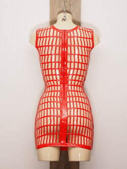 Latex Jurk LE2964-RED 3