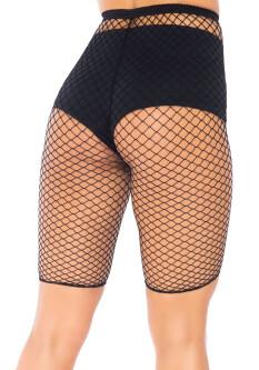 Plus Size Netstof Biker Short 8882X 2