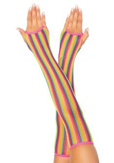 Regenboog Net Arm Warmers 2036