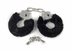 Crystal Handcuffs Black 1011-01