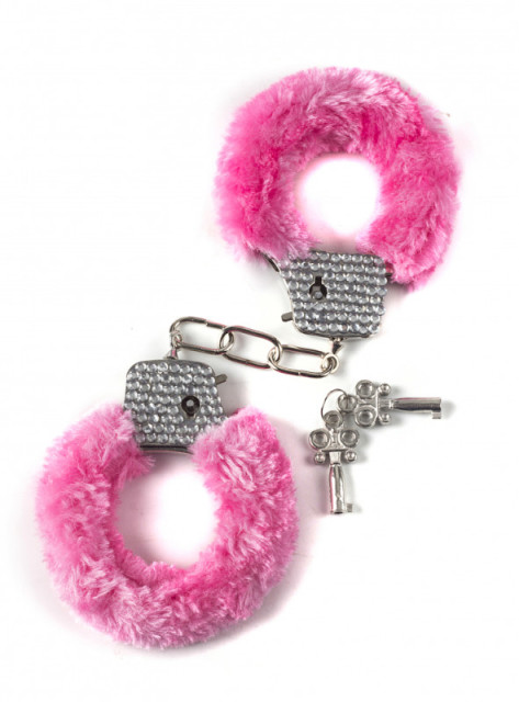 Crystal Handcuffs Pink 1011-03