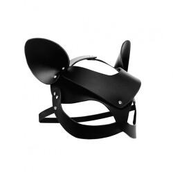 Leren Kitten Masker AF845