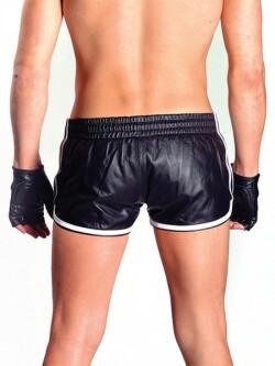 Leren Shorts mb150603 2