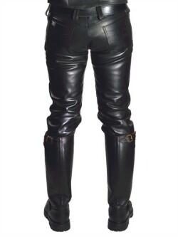 Leren jeans mb103031 2
