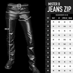Leren jeans mb103031 3