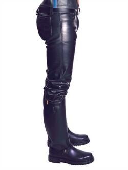 Leren jeans mb103031 4