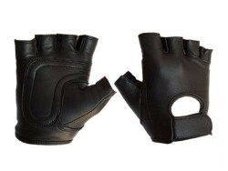 Leather Fingerless Gloves 412500