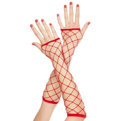 Vingerloze handschoenen 410-RED