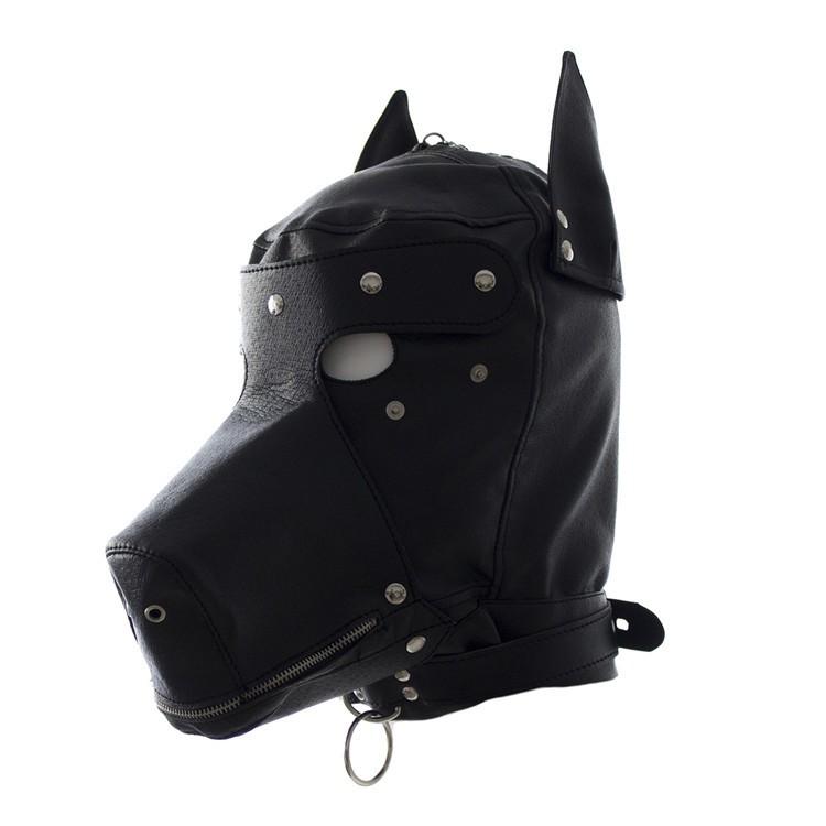Leren Doggie style mask OPR-3010011