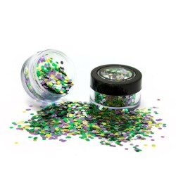 BioDegradable Chunky Glitter Rainforest BGM115 1