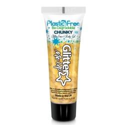 Plastic Free Glitter Gel Daffodil PFP253