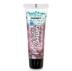 Plastic Free Glitter Gel Rose PFP251