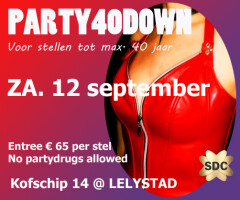 Party40Down PartyPlayers-Lelystad