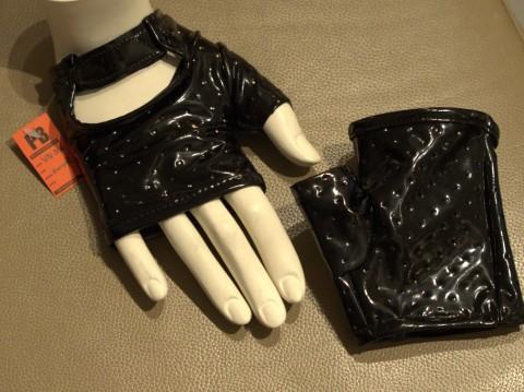 Vingerloze Lak Handschoenen VN-306-VI-305