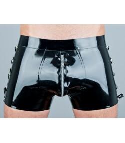 Latex Shorts met veters Riot 123 E 1