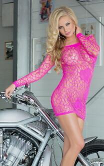 Sweetheart Pink Dress 602140 2
