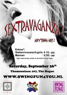 Sextravaganza paridise-den-haag